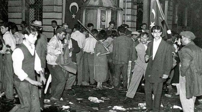 Herkül Millas: 6-7 Eylül 1955, İstanbul