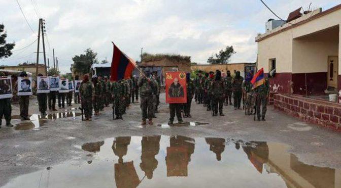 Şehit Nubar Ozanyan Ermeni Taburu Kuruldu!