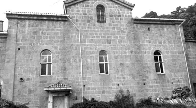 Trabzon'da Tarihi Ruhban Okulu ve Kilise Çürümeye Terk Edildi
