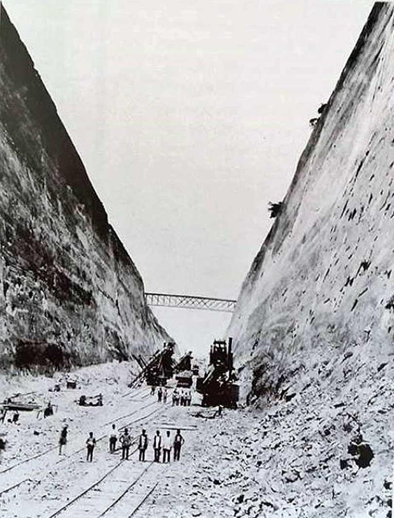 Korint Kanalı Muşlu Ermeni İşçiler