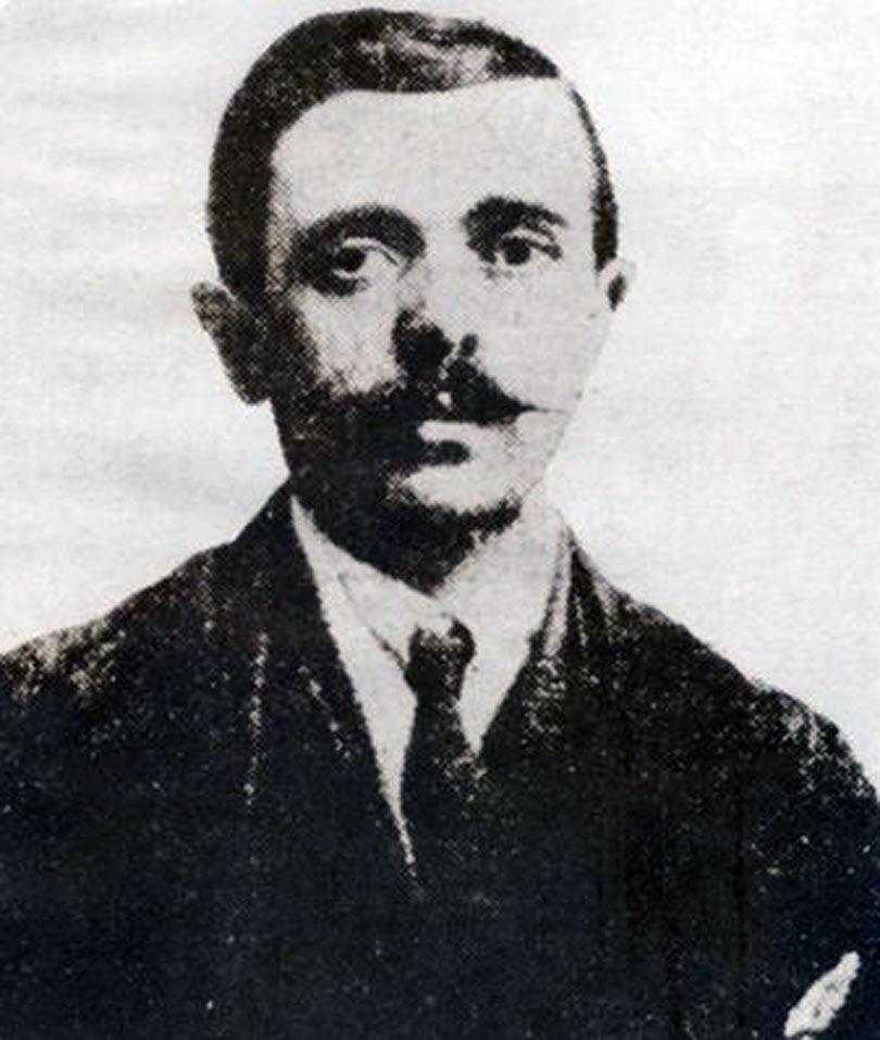 Selanik sosyalist lider Avraam Benaroya