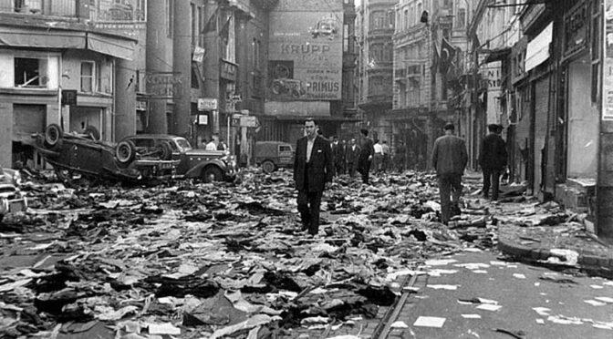 Foti Benlisoy: Mini pogromlar ve münferit linçler arasında 6-7 Eylül